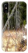 Island Park Cattails IPhone Case