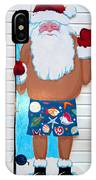 Island Santa IPhone Case