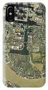 Isle Of Dogs, Aerial Photograph IPhone Case