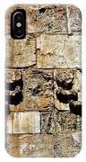 Israel Wall Bas Relief IPhone Case