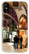 Istanbul Grand Bazaar 12 IPhone Case
