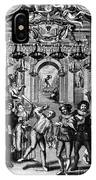Italian Comedians, 1689 IPhone Case