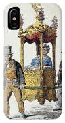 Italy Sedan Chair IPhone Case
