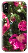 It's A Pink Christmas IPhone Case