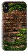 Ivy And Bricks IPhone Case