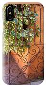 Ivy And Old Iron Gate IPhone Case
