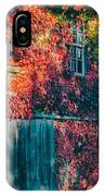 Ivy Covered Barn IPhone Case