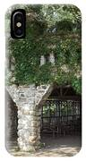 Ivy Covered Stone Wall IPhone Case