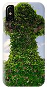 Ivy Covered Cross IPhone Case