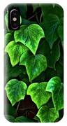 Ivy Leaves IPhone Case