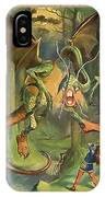 Jabberwock IPhone Case