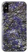 Jacaranda Tree IPhone Case