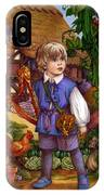Jack And The Beanstalk By Carol Lawson IPhone Case