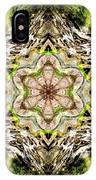 Jack In The Pulpit Mandala IPhone Case