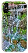Jackson Falls At Mile 405 Natchez Trace Parkway-tennessee IPhone Case
