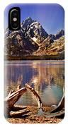 Jackson Lake Mt. Moran IPhone Case