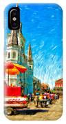 Jackson Square Painted Version IPhone Case