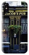 Jacob's Pub IPhone Case