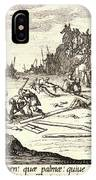 Jacques Callot French, 1592 - 1635. The Crucifixion Le IPhone Case