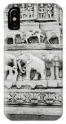 Jagdish Temple Sculpture IPhone Case