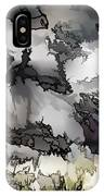 Jagged And Flowing IPhone Case