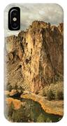 Jagged Smith Rock IPhone Case