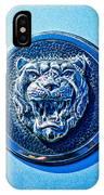 Jaguar Emblem -0056c IPhone Case