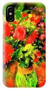 J'aime Le Bouquet IPhone Case