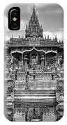 Jain Temple Monochrome IPhone Case