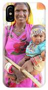 Jaisalmer Mother Daughter IPhone Case