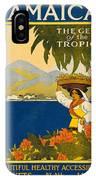Jamaica The Gem Of The Tropics IPhone Case
