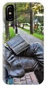 James Bradley Statue 9882 IPhone Case