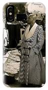 James Earl Jones Panavision Camera The Great White Hope Set Globe Arizona 1969 IPhone Case