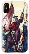 James IIi Lands In Scotland, 1715 IPhone Case