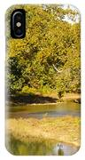 James River In The Fall IPhone Case