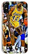 James Worthy IPhone Case