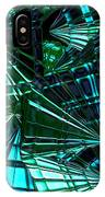 Jammer Swirling Emeralds  IPhone Case