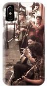 Jamming On Royal Street  IPhone Case
