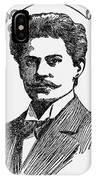 Jan Szczepanik (1872-1926) IPhone Case