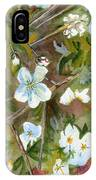 Jane's Apple Blossoms 1 IPhone Case