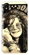 Janis Stamp In A Sepia Vibe IPhone Case