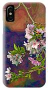 Japanese Cherry Blossom Branch IPhone Case