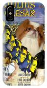 Japanese Chin Art - Julius Caesar Movie Poster IPhone Case
