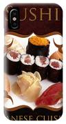 Japanese Cuisine Gallery IPhone Case