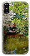 Japanese Garden In Bloom IPhone Case
