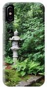 Japanese Garden Lantern IPhone Case