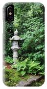 Japanese Garden Lantern IPhone Case