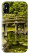 Japanese Garden Tokyo IPhone Case