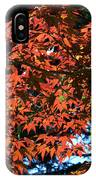 Japanese Maple Canopy IPhone Case