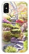 San Francisco Golden Gate Park Japanese Tea Garden  IPhone Case